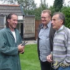 Drie toppers Bert, Eddy D'Heedene en Noel Peiren